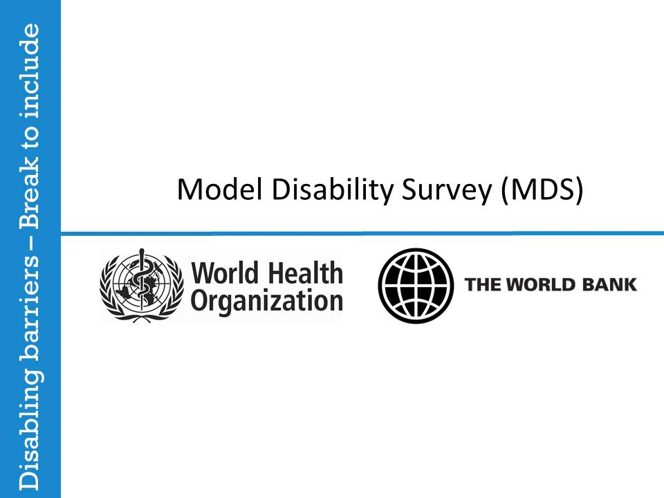 Model Disability Survey (MDS)